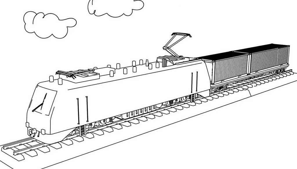 Раскраски Поезда для детей 3-10 лет. Старинные поезда ...