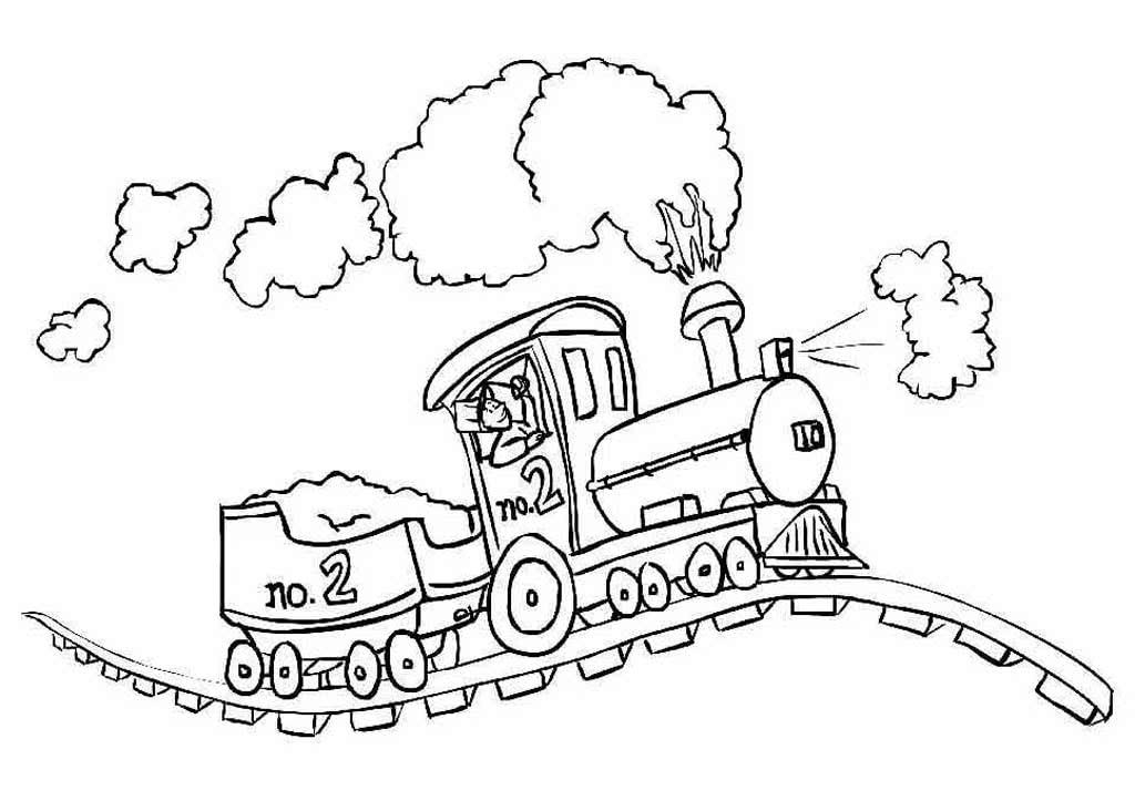 Раскраски детская железная дорога, море приколы найти