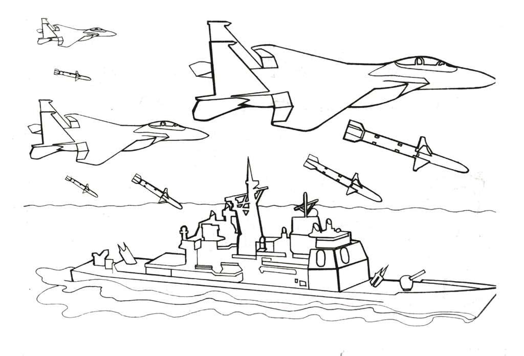 Картинки раскраски войны